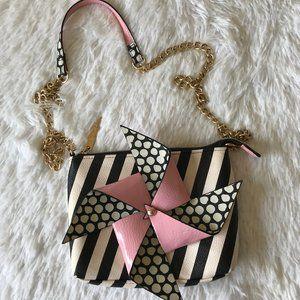 Betsey Johnson Pinwheel Crossbody Bag